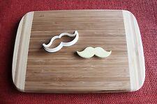 Moustache n1 Cookie Cutter Cake Topper Fondant Cutter Cupcake Topper