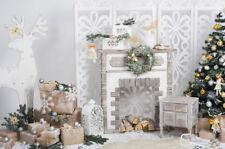 Christmas Theme Decor Photo Background Photography Backdrop Prop Vinyl/Polyester
