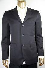 $1750 New Authentic Gucci Men's Black Wool Blazer 2 vent 195993 1000