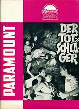 DER TOTSCHLÄGER * THE YOUNG CAPTIVES - Werberatschlag -Campaign Book USA 1958