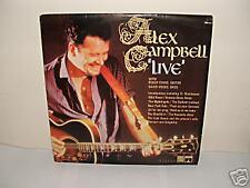 "Alex Campbell - LIVE 12"" LP 1968 / Folk / Stereo"