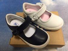 Keds Kids Ella Hook & Loop Leather Mary Janes Sneaker Toddler Size 5.5 to 11