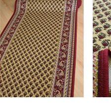 feiner Teppich Läufer *AW MIR klassik Beige* 100 cm breit Rollenware