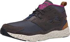Reebok FURYLITE Mens Seasonal Outdoor Sneakers Grey Brown Shoes NEW AUTHENT