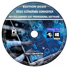 2020 Professional Video Authoring Converter  Video Editor DVD Movie Maker DVD