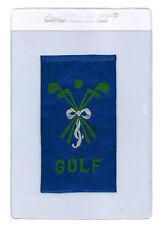 1910 1911 SC12 CANADIAN MISCELLANY BLUE GOLF SILK