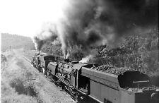 New South Wales Railways 60 Class Garratts Double Heading up Fassifern Bank 1970