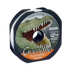 150m Jaxon Crocodile lenza fluorocarbon coated line monofili 0,10-0,45mm