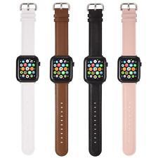 Apple Watch Armband L 38mm 40mm Series 0 1 2 3 4 5 LEDER Sport Band Uhrenarmband