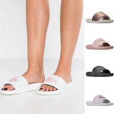 f6d160095b83e5 Womens Lacoste Sandals Lacoste Croco Pool Slides NEW