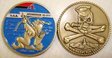 USS Archerfish SS 311 Submarine Coin Jolly Roger WWII