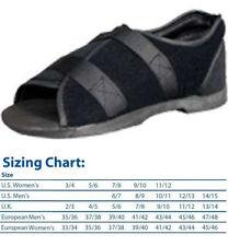 DARCO Softie Medical-Surgical Post-Op Shoe MedSurg Black New Sandal ALL SIZES !!