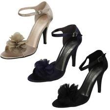 Spot On donna tacco alto sandalo con cinturino alla caviglia