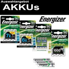 ENERGIZER AKKU AA R6 Mignon AAA Micro C Baby R14 D Mono R20 9V-Block
