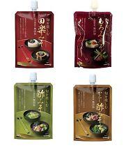 Marukome, Flavor Miso Series, Shun wo Tanosimu, 4 kinds, in 100 pack, Japan