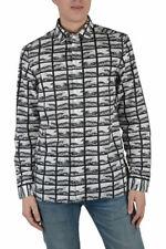 Kenzo Men's Multi-Color Long Sleeve Button Down Casual Shirts US XS S M L XL 2XL