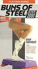 Platinum Series: Buns of Steel Step 2000 - Step Workout [VHS]
