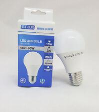 LAMPADA LAMPADINA LED BULBO E27 10W = 60W 70W LED CALDA/NATURALE/FREDDA GT-LUX