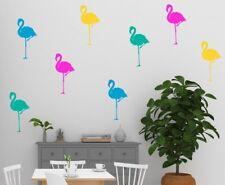 Autocollant Mural Flamant Rose Ensemble de 8 Amovible Tropical Décalques Ikea