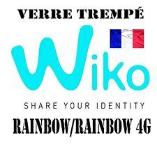 vitre protection verre trempé film de protecteur d'écran Wiko Rainbow/Rainbow 4G