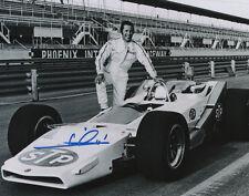 Mario Andretti Indy Car Series SIGNED 8x10 Photo COA!