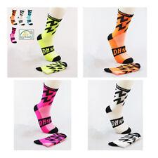 Pro Mens Womens Cycling Sport Socks Anti-Sweat Breathable Running Climbing Socks