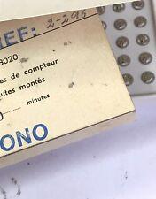 Valjoux 7730 7733 7734 7736  Venus188 compteur minute recording 30 mn