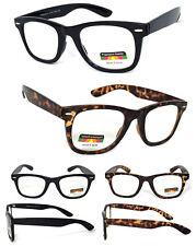 Multi Focus Progressive Reading Glasses 3 Powers in 1 Reader Retro Square Frame