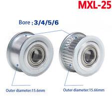25 Teeth MXL Timing Belt Pulley D-Bore for 6mm 10mm Belt Reprap 3D Printer CNC