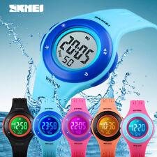 SSKMEI Buckle Type Kids Waterproof Electronic Digital Sport Watch For Child Girl