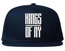 Kings Of NY Stretched logo Printed Snapback hat New York Brooklyn Bushwick Bronx
