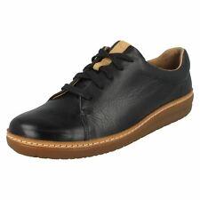 Clarks Mujer Casual Con Cordones Zapato Plano salón Zapatillas amberlee ESCUDO