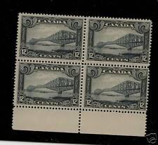 Canada  156 Mint NH  block  catalog $340.00