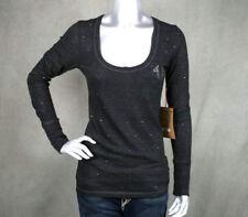 True Religion sparkle scoop neck HORSESHOE shirt tunic Stones Crystals