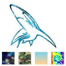 Great White Bull Shark - Decal Sticker - Multiple Patterns & Sizes - ebn1379