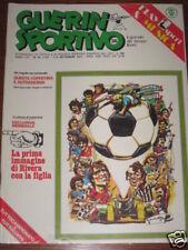 GUERIN SPORTIVO 1977/36 COVER ADESIVA TUTTOCOPPE EURO @