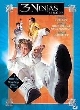 3 Ninjas Trilogy (DVD, 2005, 3-Disc Set) free shipping - 1 cent bidding