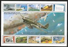 GAMBIA #1265 (A-J)  MNH BATTLE OF MIDWAY WORLD WAR II