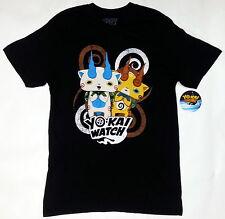ANIME YoKai Watch KOMASAN AND KOMAJIRO KOMA BROTHERS T-Shirt NWT 100% Authentic