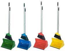 Industrial largo manejado Recogedor de polvo y cepillo Color Codificado Lobby higiénico Set