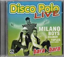 Disco Polo Live - Bara Bara (CD)  POLISH POLSKI NEW