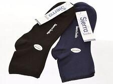 Sierra Socks Women's Plain Bamboo Shorty Seamless Toe Socks SWPLAIN