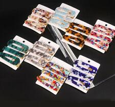 3PCS/Set Fashion Geometric HairClip Women Girl Hairpin Barrette Hair Accessories