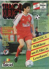 CWC - EC II 93/94 Bayer 04 Leverkusen - Benfica Lissabon, 15.03.1994