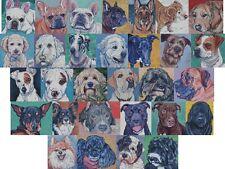 Cross Stitch Chart Kit French Shepherd Retriever Jack Russell Mastiff Bulldog