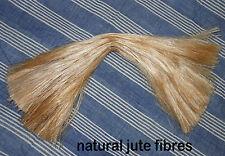 Natural Jute Fibres Yarn Thread 4 Dolls Angel Blonde Hair Floral Crafts Nesting!