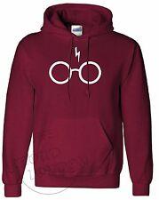 Harry POTTER Cicatriz Y Gafas Magia Divertido Sudadera Con Capucha Suéter Unisex de Moda Regalo