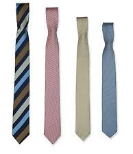 Boys Kids Quality Skinny Patterned Ties Striped Tie