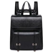 New Fashion Women's Split Cow Leather Backpack Shoulder Bag Travel Handbag S