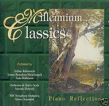 MILLENNIUM CLLASICS CD Piano Reflections Chopin Bethoven Arturo Benedetti Alegro